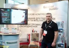 """Компанія """"Compressors International"""" прийняла участь в VIІІ-й Міжнародній конференції «UKRCEMFOR 2019», де представила відео презентацію  на тему """"Gardner Denver - рішення щодо ефективності преміум-класу""""."""