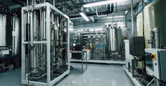Реконструкція цеху БХФЗ зі збільшенням продуктивності