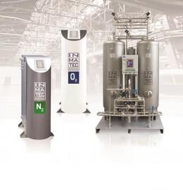 Установки генерації стисненого азоту N2 та стисненого кисню О2