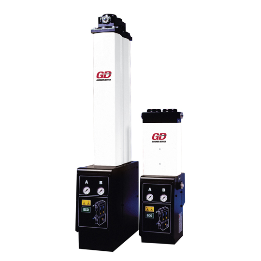Адсорбційні осушувачі зі швидкістю потоку від 0.68 до 4.99 м3/хв