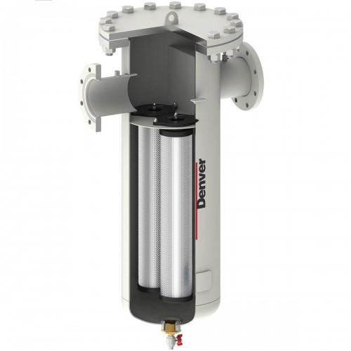 Фланцеві фільтри серії GDF з продуктивністю 48 – 516 м3/хв